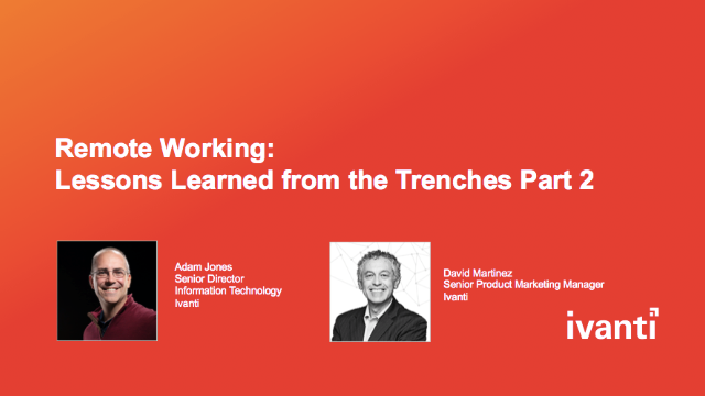 Remote Working: Lessons Learned from the Trenches Part 2