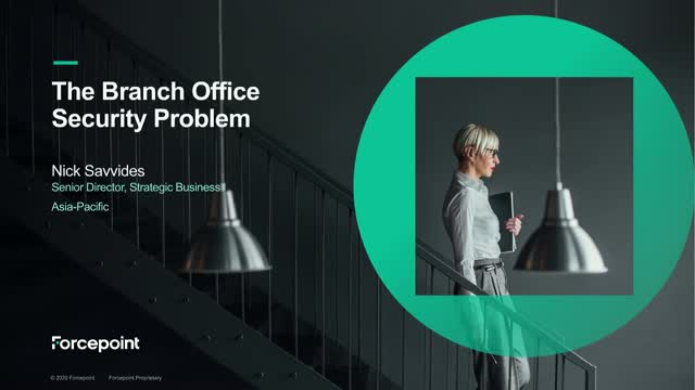 The Branch Office Cybersecurity Problem