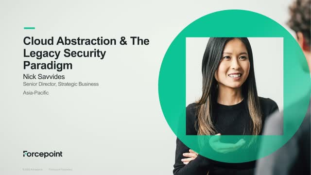 Cloud Abstraction & The Legacy Security Paradigm