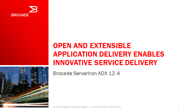 Open, Predictable Application Delivery Enables Innovative Cloud Service Creation
