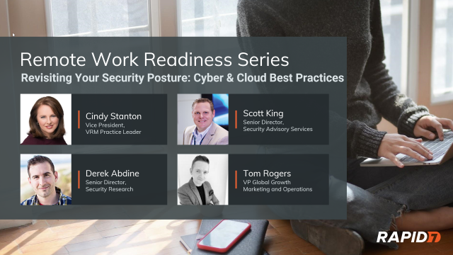 [Panel Talk] Navigating the New Normal: Cyber & Cloud Best Practices