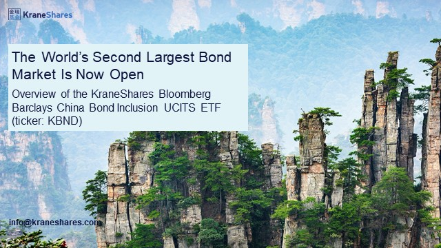 The World's Second Largest Bond Market is Now Open