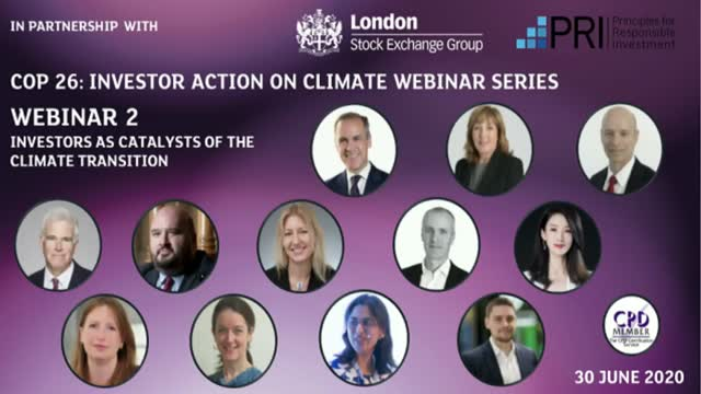 Webinar 2: Investors as catalysts of the climate transition
