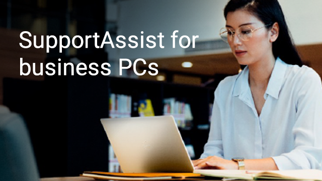 Connect to SupportAssist for business PCs