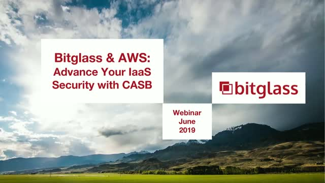 (APAC) Bitglass & AWS: Advance Your IaaS Security with CASB