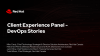 Client Experience Panel - DevOps Stories
