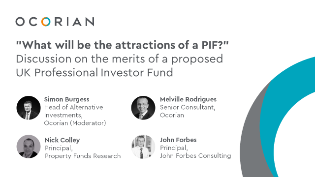 Discussion on the merits of a proposed UK Professional Investor Fund