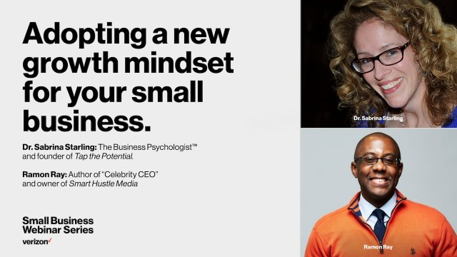 Adopting a new growth mindset for your small business
