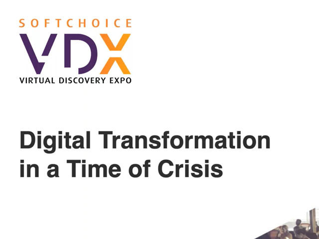 VDX2020: Opening Keynote – Digital Transformation in a Time of Crisis