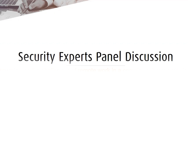 VDX 2020: Security Experts Panel Discussion