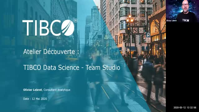Webinar découverte TIBCO Data Science