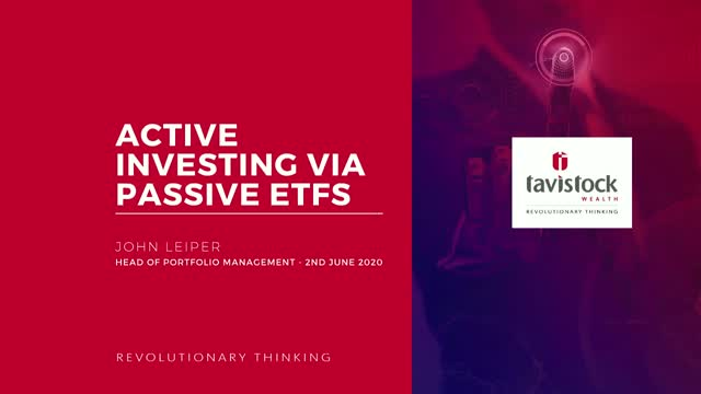 Active Investing via Passive ETFs
