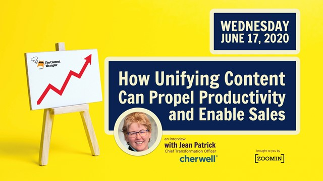 How Unifying Content Can Propel Productivity and Enable Sales