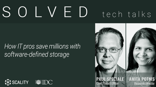 How IT Pros Save Millions Modernizing with Software-Defined Storage
