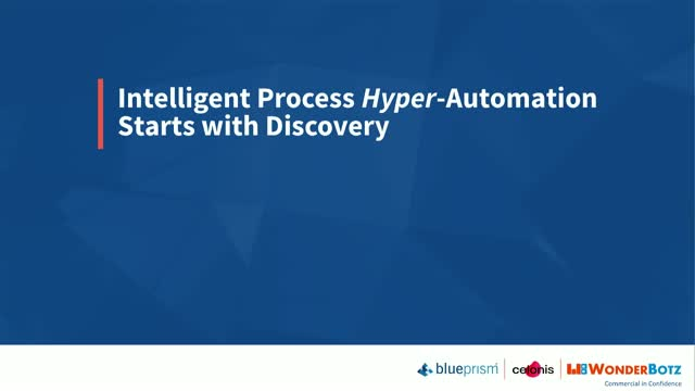 Intelligent Process Hyper-Automation Starts with Discovery