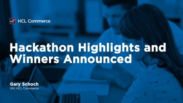 Hackathon Highlights and Winners Announced