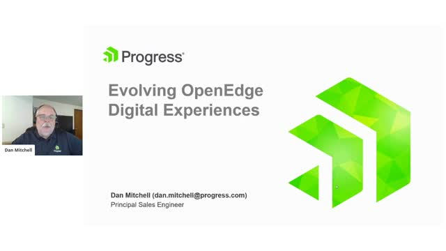Evolving OpenEdge Digital Experiences
