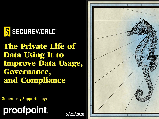The Private Life of Data: Using to Improve Data Usage, Governance & Compliance