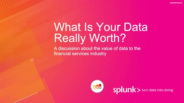 What's Financial Services Data Really Worth?