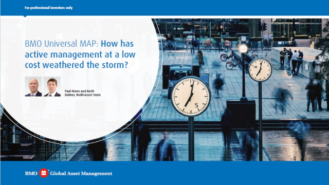 BMO Universal MAP: How has active management at a low cost weathered the storm?