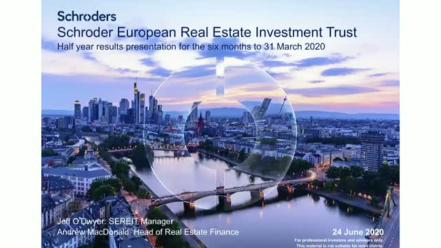 Schroder European Real Estate Investment Trust - Interim Results
