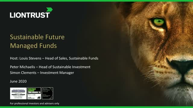 Liontrust Views - Update on Liontrust Sustainable Future Managed Funds