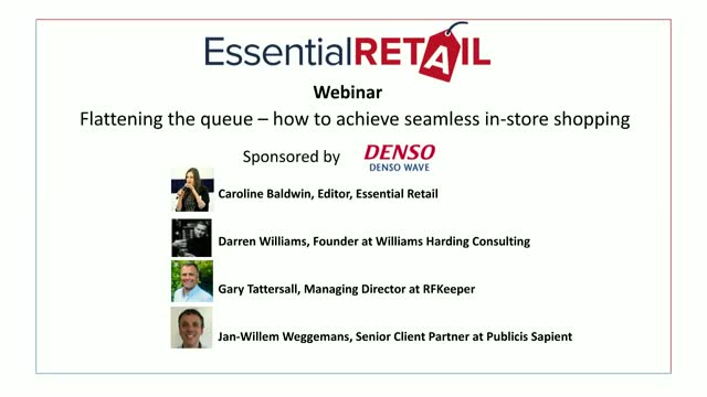 Flattening the queue – how to achieve seamless in-store shopping