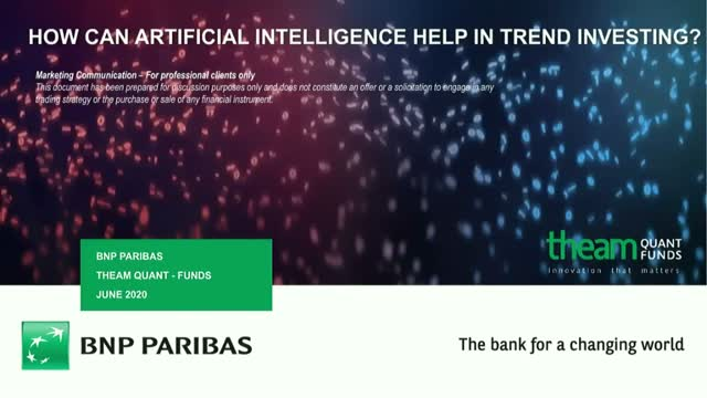 How can Artificial Intelligence help in Trend Investing?