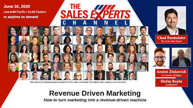 Revenue Driven Marketing – How to turn marketing into a revenue-driven machine