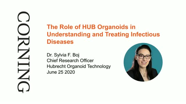 Rescheduled: Role of HUB Organoids in Treating Infectious Diseases