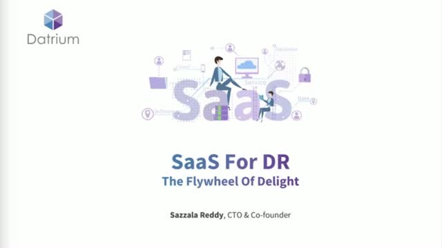 SaaS for DR: The Flywheel of Delight