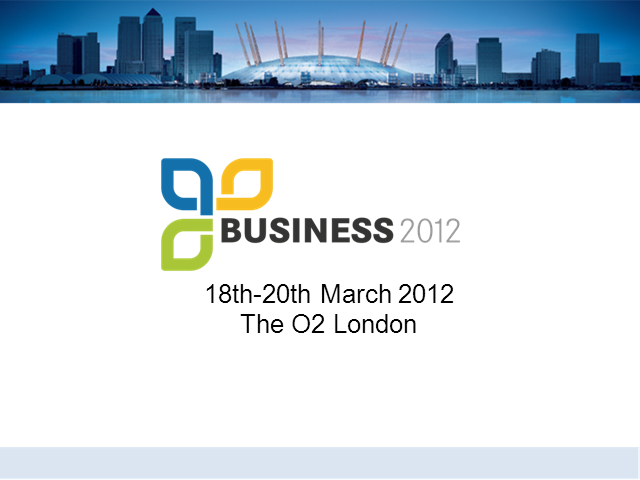 Afternoon Session: Blak Pearl Presents Marketing for Business 2012