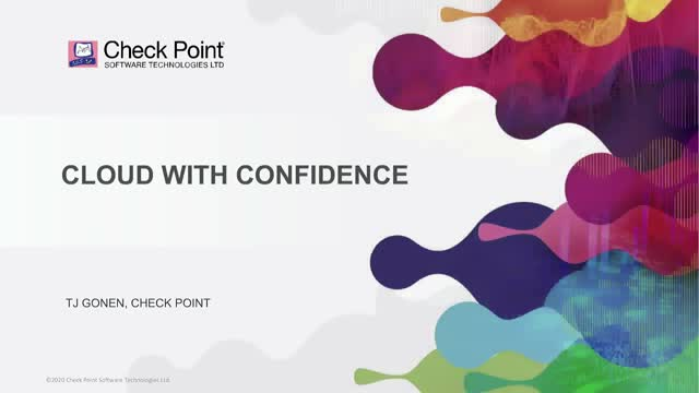 Journey into the Cloud with Check Point. Security Automated Everywhere