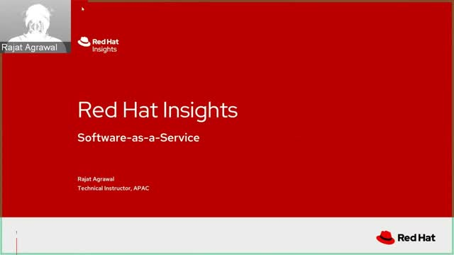 Red Hat Insights: Software-as-a-Service