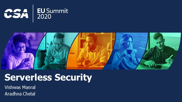 Serverless Security in 2020 and what is the future for Serverless