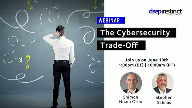The Cybersecurity Trade-Off