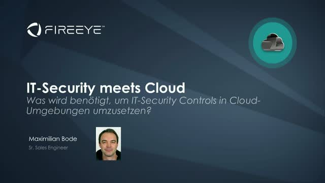 IT-Security meets Cloud