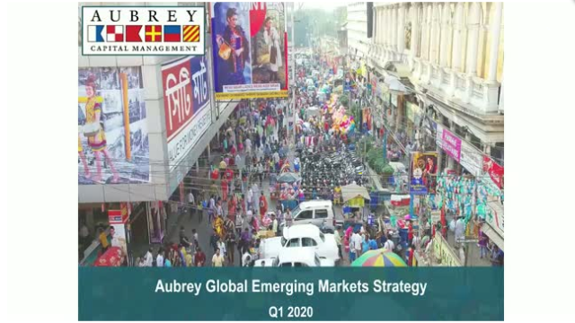 China during Covid-19: Creating Opportunities for Aubrey Global Emerging Market