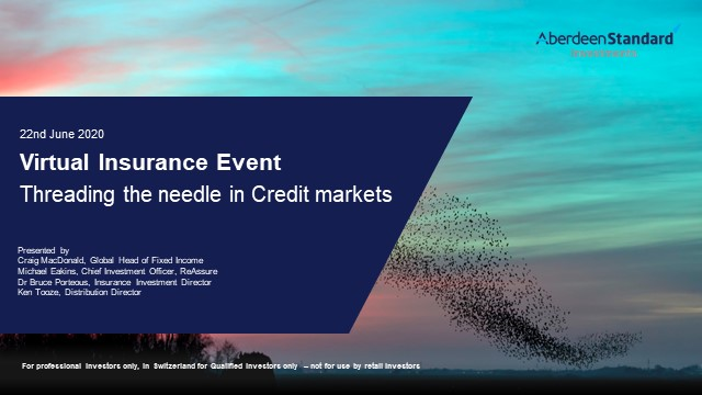 Threading the needle in credit markets