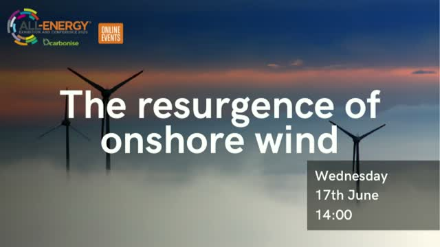 The resurgence of onshore wind