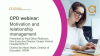 Bitesize CPD webinar: Motivation and relationship management