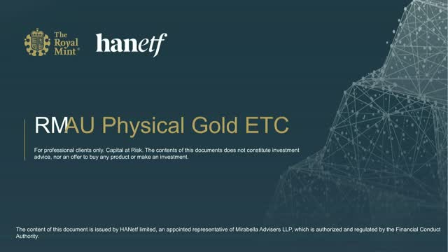 The Royal Mint Physical Gold ETC | Investing in Responsibly Sourced Gold