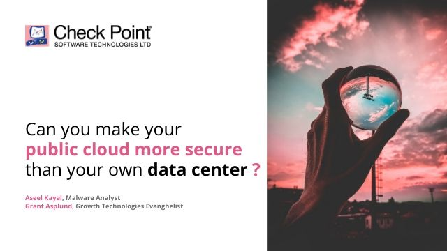 Can you make your public cloud more secure than your own data center?