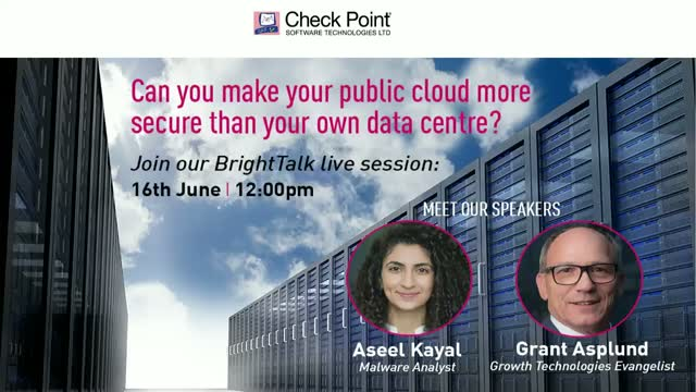 Can you make your public cloud more secure than your own data centre?