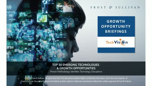 Top 50 Emerging Technologies & Growth Opportunities