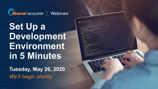 Set Up a Development Environment in 5 Minutes