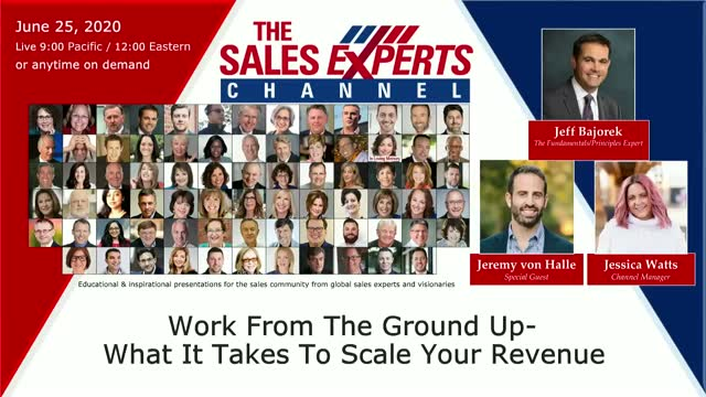 Work From The Ground Up- What It Takes To Scale Your Revenue