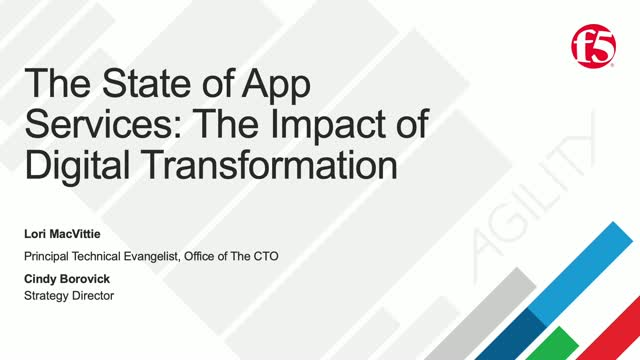 The State of Application Services: The Impact of Digital Transformation