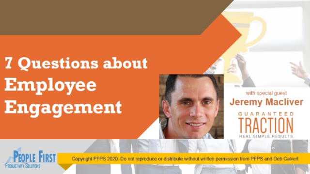 The 7 Questions of Employee Engagement