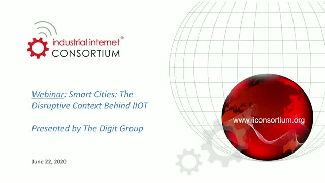 Smart Cities: The Disruptive Context Behind IIOT